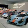 Model 917 ostvario je prve porscheove pobjede u ukupnom poretku na utrci 24 sata Le Mansa, 1970. i 1971. godine. Automobil je pokretao 12-cilindrični boxer (Typ 912) obujma od 4,5, 4,9 te u konačnici 5,0 litara. Model 917 s produženim stražnjim dijelom dostizao je brzinu od 389 km/h, a za ubrzanje od 0 do 100 km/h bilo mu je potrebno 2,7 s. Ova ikona spotrskih automobila svoj je najbolji portret doživjela u filmu Le Mans iz 1971. sa Steveom McQueenom u glavnoj ulozi