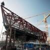 U konstrukciji novog porscheovog muzeja u Stuttgart-Zuffenhausenu nalazi se oko 6.000 tona čelika
