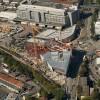 Pogled iz zraka na zgradu u gradnji, 2007. godine