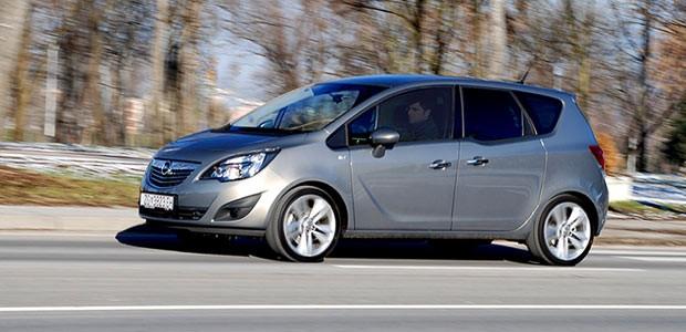 Test - Opel Meriva 1.7 CDTI Cosmo A/T