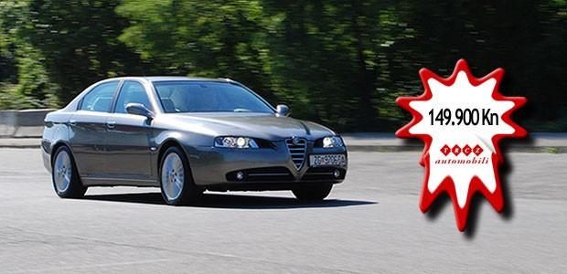 Rabljeni - Alfa Romeo 166 2.4 JTD Distinctive