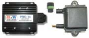 Elektronička nadzorna jedinica CDI sustava paljenja (lijevo) i indukcijski svitak s pripadajućim konektorom (M&W Ignitions)
