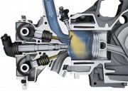 Dva bregasta vratila u glavi 6-cilindričnog boxer motora (Porsche AG)