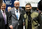 Dieter Zetsche i Usher Raymond IV - Mercedes-Benz i R&B, ruku pod ruku? Brrr...
