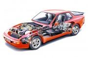 Porsche 944 sa svojim je 2,5-litrenim motorom 'promovirao' osovine za poništavanje vibracija (Porsche AG)