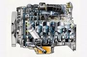 Tzv. 'vodeni džepovi' odn. kanali za rashladnu tekućinu obojani su zeleno (Daimler AG)