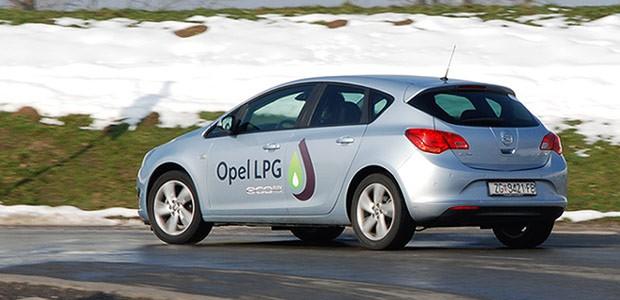 Test - Opel Astra 1.4 Turbo LPG Enjoy Plus