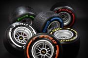 Naplaci bolida Formule 1 imaju promjer od 13 cola. Promjer slick gume iznosi 660 mm pa vi sad izračunajte visinu poprečnog presjeka... (Pirelli & C. S.p.A.)