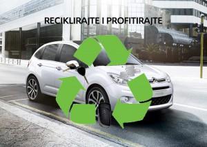 Akcije! - Citroënova akcija Reciklirajte i profitirajte produžena do kraja ožujka