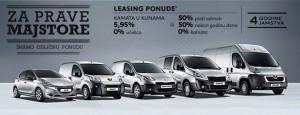 Akcije! - Peugeot pokreće akcija za laka komercijalna vozila i 208 Business