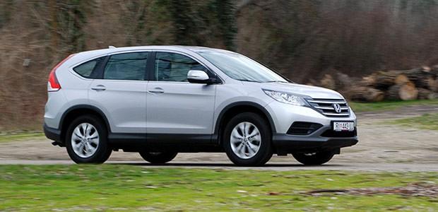 Test - Honda CR-V 1.6 i-DTEC 2WD Comfort