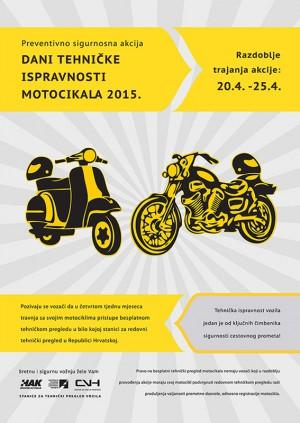 Vijesti - HAK pokreće dane tehničke ispravnosti motocikala