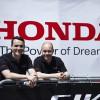 Norbert Michelisz (lijevo), 30-godišnji mađarski vozač koji nastupa u WTCC prvenstvu za upravljačem Honde Civic pokazao nam je sve mogućnosti ovog fantastičnog sportskog automobila na stazi Slovakia Ring