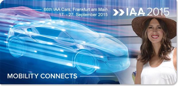 Saloni - 66. međunarodni salon automobila u Frankfurtu, 2015.