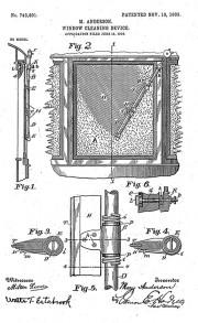 Patent M. Anderson iz 1903.