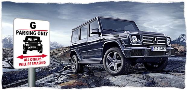 Predstavljamo - Pogled unatrag: Mercedes-Benz G klasa