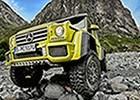 Pogled unatrag: Mercedes-Benz G klasa