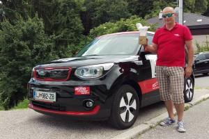 Vijesti - Kia Soul EV je pobjednik Nikola Tesla EV Rallyja Croatia 2016.