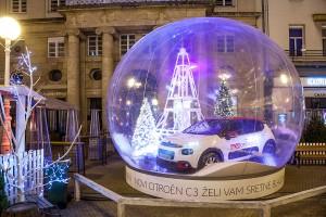 Vijesti - Novi Citroën C3 zvijezda je Božićne bajke u Zagrebu