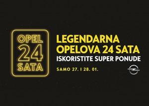 Vijesti - Opelova 24 sat kreću 27. siječnja u 12h