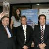 Srebrni volan: direktor Mazde Croatije, Branko Maranić, dopredsjednik Zbora automobilskih novinara Hrvoje Gattin i Tomislav Antunović
