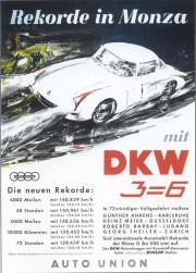 DKW Monza - 5 svjetskih rekorda s 2-taktnim motorom 1956. (PD)