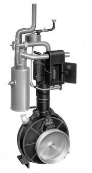 'Standuhr-Motor' iz serije prvih 4-taktnih motora Daimlera i Maybacha, 1885. (Daimler AG)