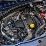 Testirani je automobil pokretao dobro poznati 4-cilindrični 1,5-litreni dizelski dCi snage od 81 kW, odnosno 110 KS te najvećeg okretnog momenta od 250 Nm