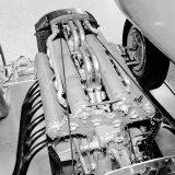 Motor MD 25 DAB/1 Mercedes-Benza W 25 Stromlinie iz 1936. bio je V12 obujma od 5577 cm3 i najveće snage od 616 KS pri 5800 o/min