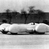 Rekordna vožnja na na autocesti Dessau - Bitterfeld: Caracciola za upravljačem W 154 Rekordwagena, 9. veljače 1939.
