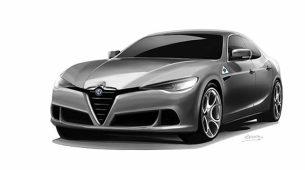 Hoće li ovako izgledati Alfa Romeo Alfetta?