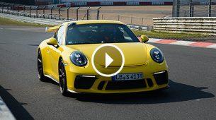 Osvježeni Porsche 911 GT3 postavio novi rekord Nürburgringa: 7 min. i 12,7 sek.