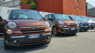 Fiat 500L facelift