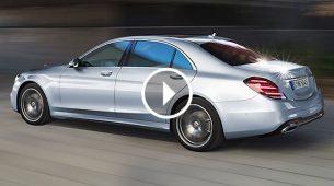 Mercedes-Benz - Osvježena S klasa se sama odvezla s proizvodne trake