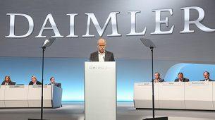Uprava tvrtke Daimler donosi opsežan plan za dizelske motore