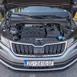 Testirani je Kodiaq pokretao dobro nam poznati 2-litreni TDI koji razvija 150 KS između 3500 i 4000 o/min te 340 Nm između 1750 i 3000 o/min. To je dobro pogođen motor za ovakav automobil