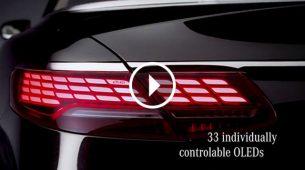 Mercedes-Benz predstavio OLED svjetla osvježene S klase Cabriolet