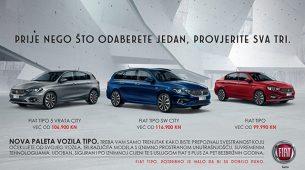 Fiat Tipo City već od 99.990 kn s još bogatijom opremom