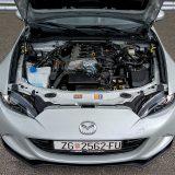 Skyactiv-G 2.0, benzinski 4-cilindrični aluminijski motor nove generacije razvija najveću snagu od 160 KS pri 6000 o/min te najveći okretni moment od 200 Nm pri 4600 o/min
