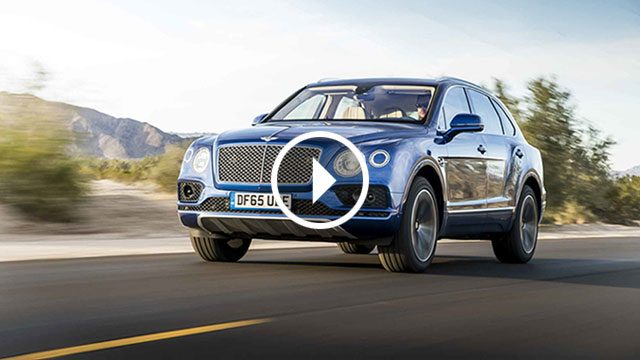Bentley Bentayga napada Pikes Peak