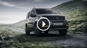 Peugeot Rifter 4x4 - koncept za avanturu