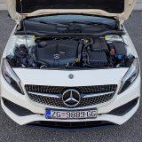 Ovo je možda bio i posljednji puta da smo testrali automobil pokretan fantastičnim mercedesovim dizelskim motorom OM 651 obujma od 2143 cm3. U ovoj izvedbi A klase, legendarni dizel razvija 136 KS i 300 Nm
