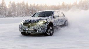 Merceces-Benz EQC - završio zimska testiranja