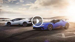 Lamborghini predstavio Huracan Performante Spyder
