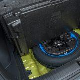 Rezevni kotač smanjenih je dimenzija, no i takav je više iskoristiv od kompleta za popravak pneumatika. Ta početna opcija dolazi samo s osnovnim paketom opreme