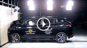 Euro NCAP - novi Nissan Leaf s odličnim položio najstroži test do sada
