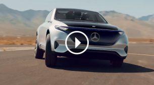 Mercedes-Benz Concept EQ - električna tišina