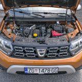 Duster je gotovo nezamisliv bez 1,5-litrenog motora koji čini osnovu dizelske ponude cijele Grupe Renault Nissan. U konkretnom slučaju radi se o snažnijoj izvedbi koja razvija snagu od 81 kW, odnosno 110 KS pri 4000 o/min te najveći okretni moment od 260 Nm pri 1750 o/min