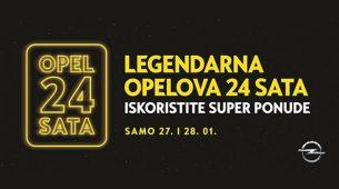 Opelova 24 sat kreću 27. siječnja u 12h