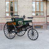 Originalni Benz Patent-Motorwagen Nr. 3 iz 1888. trenutno se nalazi u muzeju automobila Dr. Carl Benz u Ladenburgu